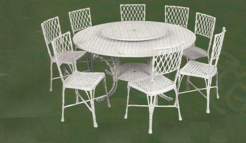 mesa para jardim em ferro fundido ? Doitri.com
